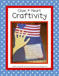Election or Veterans Day Craftivity + Write: Teacher Idea Factory $