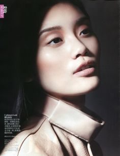 "Ming Xi in ""Master Class"" by Liz Collins for Vogue China September 2012"