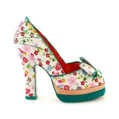 Irregular Choice: I'm so taken aback by the wonderfulness of this shoe, I'm not sure I can speak