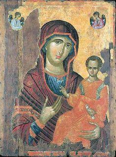 Detailed Internet Encyclopedia of the Orthodox Icon. Religious Images, Religious Icons, Religious Art, Byzantine Icons, Byzantine Art, Paint Icon, Religious Paintings, Madonna And Child, Orthodox Icons