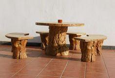 Los muebles de madera paraexterior poseen el encanto delo natural. La variedad de diseños pueden hacernos lograr desdeun espacio sofi...