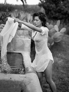 Doing laundry Italian style