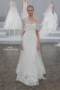 2015 Spring Bridal Market Trends -- 20 Trends We Spotted!! See them all on #SMP right here: http://www.StyleMePretty.com/2014/04/18/the-hottest-trends-from-the-spring-2015-bridal-market/