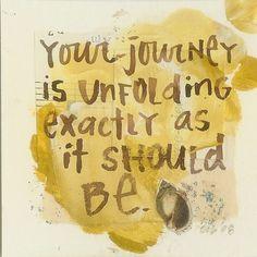 an unfolding journey