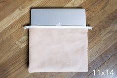 11x14 zippered leather pouch | Ames Arrow
