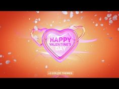 Happy Valentines Day | After Effects template