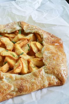 Peach Galette ~ the perfect way to showcase fresh sweet peaches. The easy crust requires minimal effort and will impress your family with looks and taste!