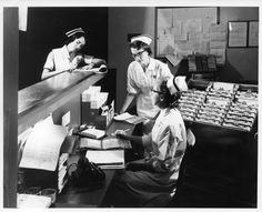 #Nurses jotting down #patient notes the old fashioned way!