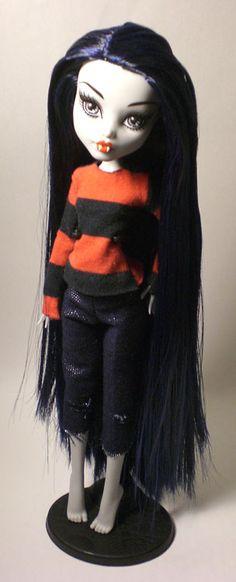 Marceline Frankie Stein custom  #MonsterHigh #AdventureTime
