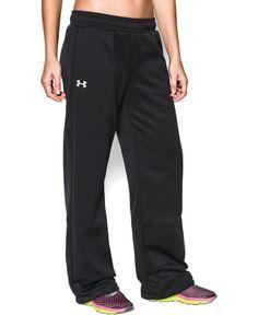 Under Armour Women's Armour® Fleece Team Pants Extra Small Black. @loyda11