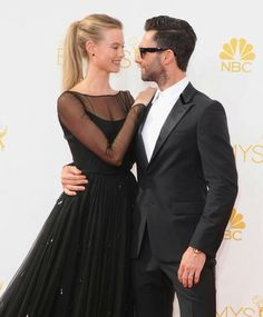 I know millions of hearts broke last July when Adam Levine and Behati Prinsloo tied the knot in a lavish ceremony in Los Cabos, Mexico but I just cant take my eyes of this lovely and very sweet couple. #adamlevine #behatiprinsloo #celebritycouple #married #fashionstyle
