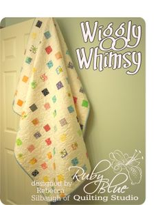Wiggly Whimsy QuiltTutorial on the Moda Bake Shop. http://www.modabakeshop.com