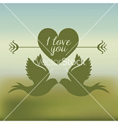 love bird - by grmarc on VectorStock®