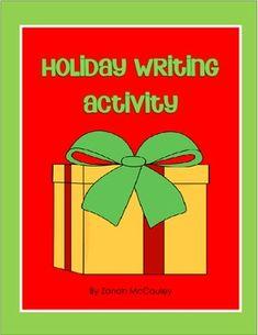 Holiday Writing Activity FREEBIE