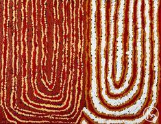"""""""Women's Dreaming"""" by Tanya Napangardi 46cm x 35cm $400  http://www.aboriginalartstore.com.au/artists/tanya-napangardi/womens-dreaming-44/"""