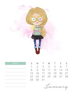 Do your kids love Harry Potter? This adorable watercolor cartoon Harry Potter calendar has all of your favorite characters! Harry Potter Diy, Natal Do Harry Potter, Harry Potter Navidad, Harry Potter Calendar, Hery Potter, Harry Potter Weihnachten, Harry Potter Fiesta, Theme Harry Potter, Harry Potter Printables