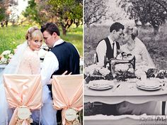 Vintage Wedding Look by Jaymi M Photography