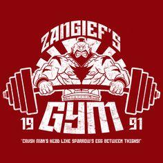 Zangief's gym #StreetFighter