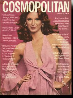 Cosmopolitan magazine, FEBRUARY 1972 Model: Laura Bernard Photographer: Garry Gross