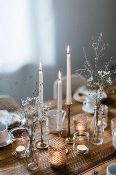Weihnachtliches Dessert: einfaches Parfait mit Ahornsirup und gebrannten Pekannüssen
