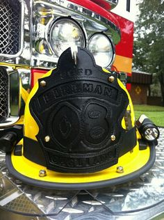 Black on Black fire helmet shield.