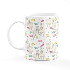 House Of Wonderland - Llama & Flying Saucer Mug #affiliate