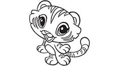 Tiger ninja turtles coloring pages ~ 12 Best Coloring Pages for Kids - Cute images | Coloring ...