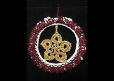 coccarda natalizia - christmas decoration