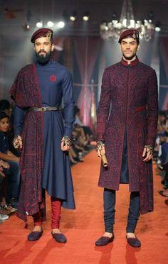 Ideas For Wedding Hairstyles Men Groomsmen is part of Indian men fashion - Mens Indian Wear, Indian Groom Wear, Indian Men Fashion, Indian Man, Indian Ethnic, Wedding Dresses Men Indian, Wedding Dress Men, Wedding Bands, 1950s Fashion Menswear