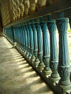 Railings in Indonesian Room