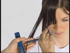 ABC Cutting hair the Sassoon Way Vidal Sassoon part10 - YouTube