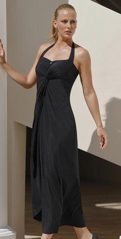 #OperaSwim 2014 Moonstone Black #Dress 63053-05  #southbeachswimsuits