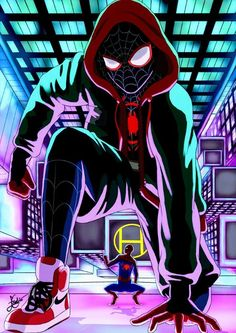 Miles Morales - Ultimate Spider-Man, Into the Spider-Verse Marvel Comics, Marvel Comic Universe, Marvel Fan, Marvel Heroes, Marvel Avengers, Amazing Spiderman, Spiderman And Gwen, Spiderman Spider, Miles Morales Spiderman