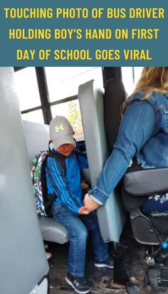 However, one Wisconsin bus driver is being praised for her compassionate attitude with one jittery child.