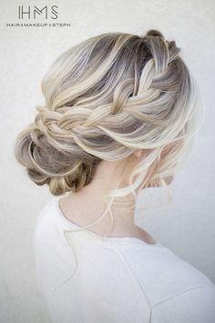 Peinados para damas de boda