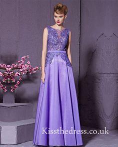 Purple Lace Chiffon