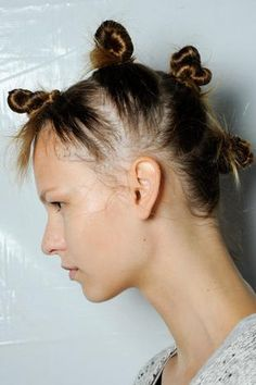 Knots 2.0 / Spring 2015 / Marc by Marc Jacobs / Statement Hair