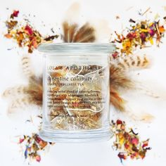 True to our philosophy of bringing pleasure into wellness we set out to create herbal teas that are as vibrant as their names. . . . This is Clementine Calamity a relaxing honeybush blend of gentle calming herbs supercharged with adaptogens flavoured with fruity orange and apple. And of course lots of flower petals  . . . Available in presentation glass jar or refill pack of 20 biodegradable pyramid teabags. Use code REBIRTH to get 10 off 50 on our website  . . . . #lolasapothecary…