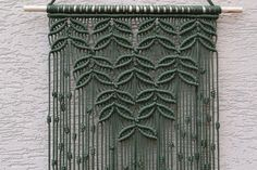 Macrame+Wall+Hanging+by+Mrcolmar+on+Etsy                                                                                                                                                                                 More