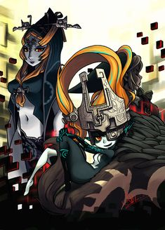 Midna pinup by oh8 on DeviantArt