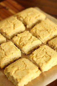 Golden Sweet Cornbread - Gluten Free & only 1 weight watchers plus point!