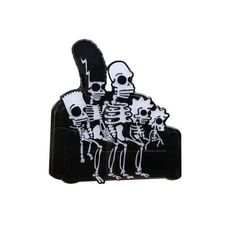 the simpsons skeletons