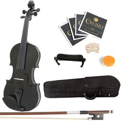 Mendini 4/4 MV-Black Solid Wood Violin with Hard Case, Shoulder Rest, Bow, Rosin and Extra Strings (Full Size) Mendini http://www.amazon.com/dp/B004Z2NSRQ/ref=cm_sw_r_pi_dp_FILxub09XD487