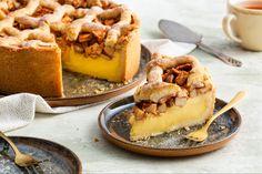 Recept: Oma's appeltaart met custard - Bakken.nl
