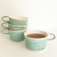 Love the color - mugs by Gurli Elbækgaard
