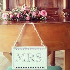 Vintage Hochzeit, Ziviltrauung im grünen Saal