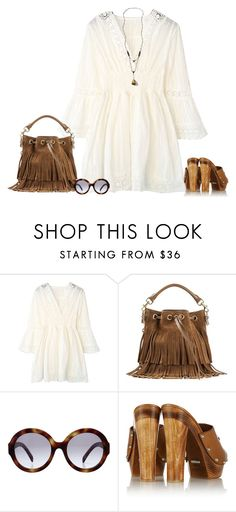 """""""Boho"""" by lenaick ❤ liked on Polyvore featuring Yves Saint Laurent, Prada, Gucci and Abercrombie & Fitch"""