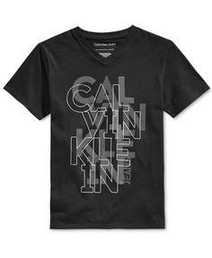 Calvin Klein Boys' Graphic-Print T-Shirt