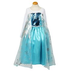 Elsa Frozen jurk - FROZEN jurken - NIEUW! - Prinsessenjurk.nl
