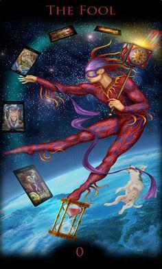 Legacy of the Divine Tarot 0 - The Fool (Tarot Card) The Fool Tarot Card. †he fool Tarot Tarot Card Decks, Tarot Cards, Vampires, Tarot The Fool, Divine Tarot, Tarot Significado, Tarot Major Arcana, Oracle Tarot, Tarot Card Meanings